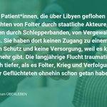 Image for the Tweet beginning: Anlässlich zum #TagderMenschenrechte fordern wir