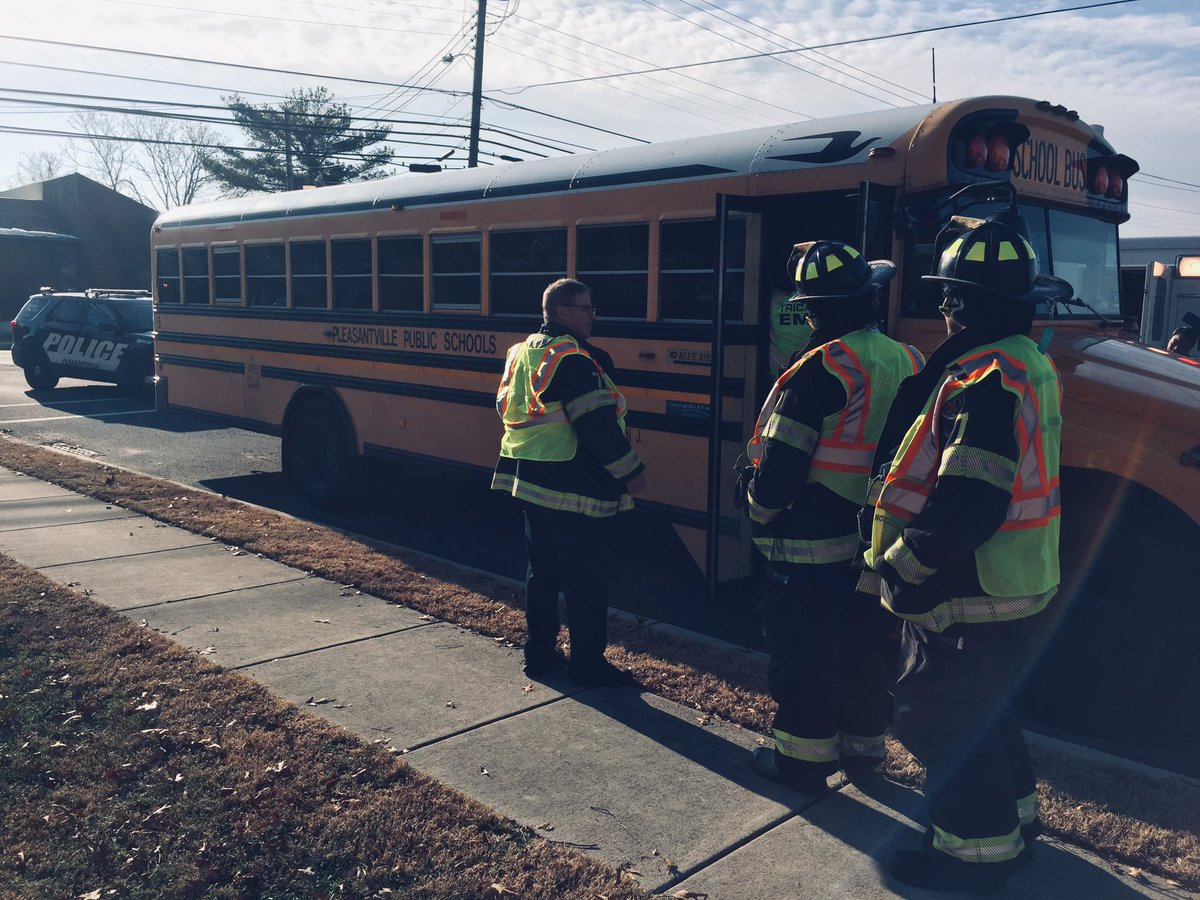 Mic E B Post On Twitter Pleasantville School Bus Rear Eneded On Route 9 All Kids Ok But Going For Medical Evaluations Police Say Acpress