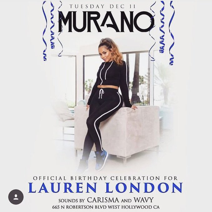 Aww Happy Birthday Lauren London aka whoeverybody thinks iam NuNu from ATL