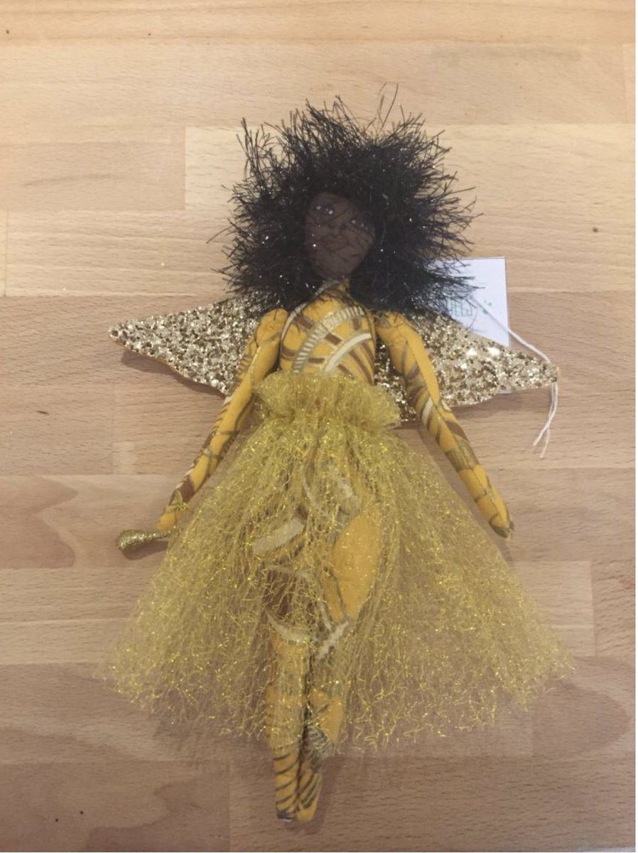 If you are looking for a unique Christmas ornament consider the Agape Dolls Ornament from Carole Brothers' Holiday 2018 Collection. #ShopZAWADI