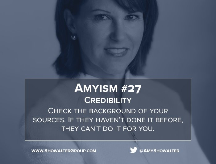 test Twitter Media - Amyism #27 Credibility https://t.co/98DvNxIIey