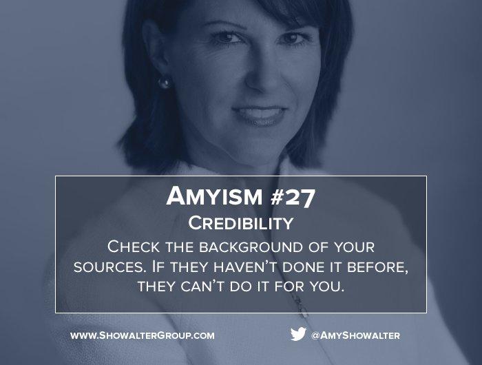 test Twitter Media - Amyism #27 Credibility https://t.co/98DvNxIIey