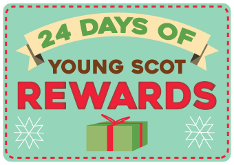 Did you know were doing 24 Days of Rewards? Weve got lots of opportunities to collect Rewards points, as well as some amazing prizes to give away! Check out Day 10s treat > young.scot/24days