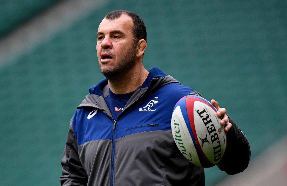 test Twitter Media - Rugby Australia will make a decision on the future of Wallabies head coach Michael Cheika before Christmas: https://t.co/KisEgZDBhw https://t.co/s3cXSl2o6S