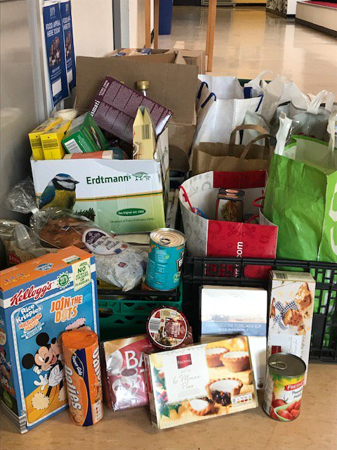 test Twitter Media - Last appeal for food donations! Thank you to everyone who has donated for the St. Vincent de Paul Food Appeal so far. The boxes will be picked up tomorrow around 11am so there is still time tomorrow to bring in donations! @SVP_Ireland https://t.co/NN7f4ccGzH