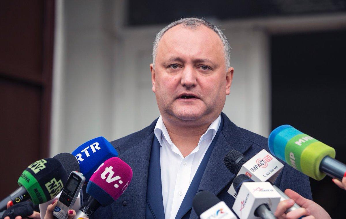 Додона отстранили от исполнения обязанностей президента Молдавии  Да, опять: https://t.co/ak6h7ZRSpR