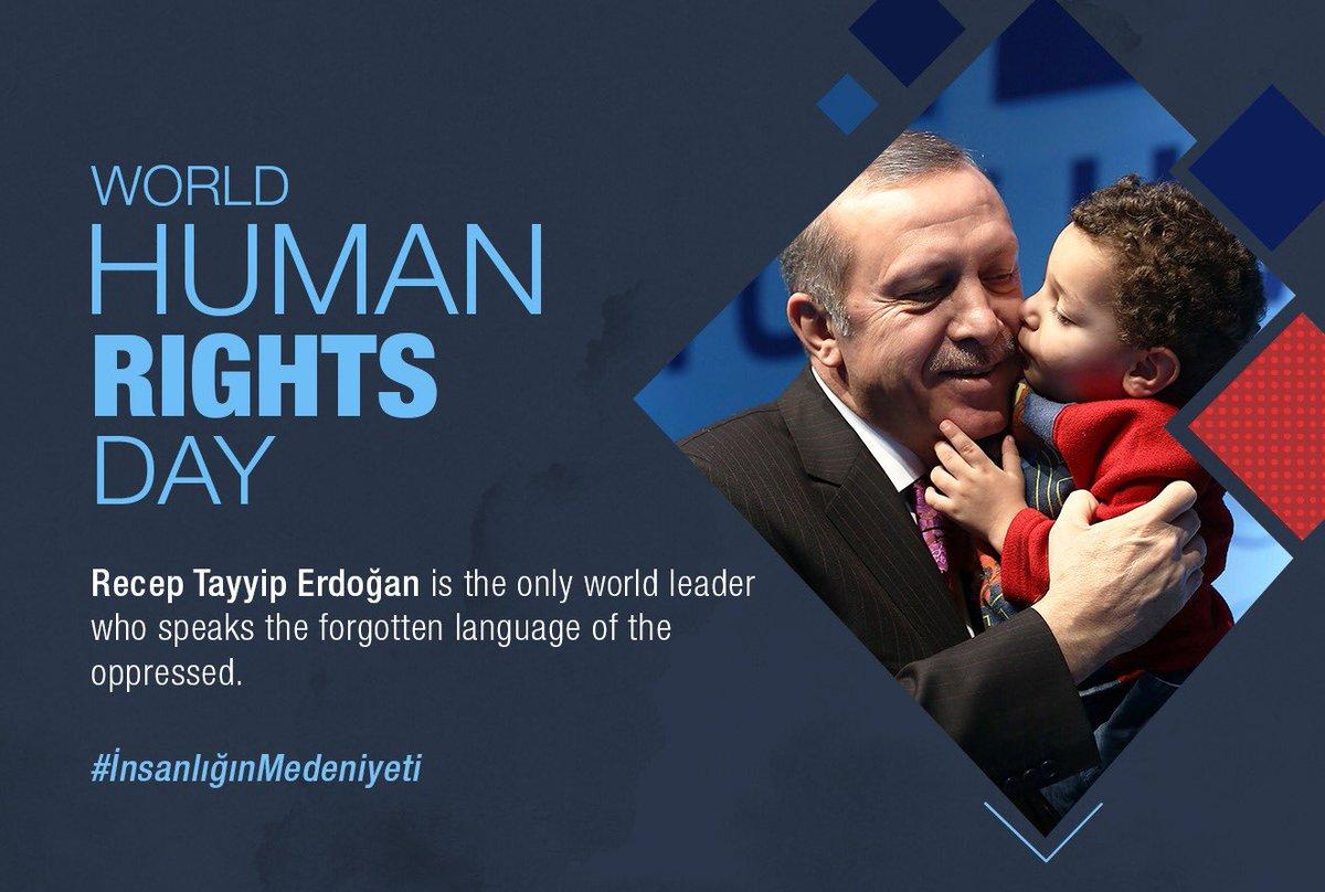 Recep Tayyip Erdoğan is the only world leader who speaks the forgetten language Of the oppressed. #İnsanlığınMedeniyeti<br>http://pic.twitter.com/CbW4bVH3uk
