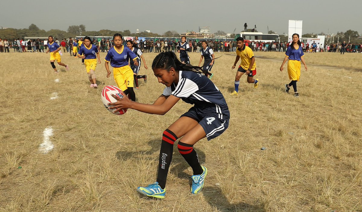 test Twitter Media - Over 2,500 people attended @nepalrugby 'Get into Rugby' festival in Kathmandu's Tundikhel Park, with many touching a rugby ball for the very first time https://t.co/WGhiTKPuBZ