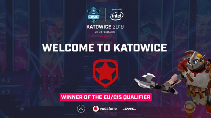 🇵🇱⚙️ Congratulations @GambitEsports on securing your ticket for #ESLOne Katowice! 🎟️ Foto