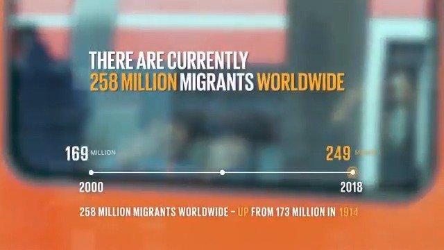 Image for the Tweet beginning: Global migration is a challenge