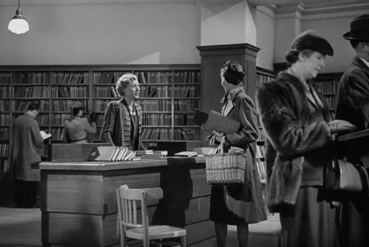 """There's a fleeting scene in Brief Encounter when Celia Johnson nips into Boots the Chemist to change her library book: """"Miss Lewis had at last managed to get the new Kate O'Brien for me. I believe she'd kept it hidden under the counter for two days."""""""