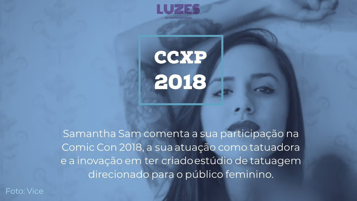 Luzes do Empreendedor's photo on #CCXP18