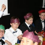 Thanks to our great catering team @HolroydHowe for a lovely #Christmas2018 party for our boarders - they looked very smart in their black tie and had a great time. #boysattheirbest @BSAboarding