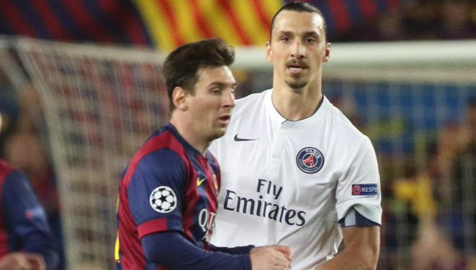 """Ibrahimovic: """"Messi competía con Florentino, no con Cristiano"""" Foto"""