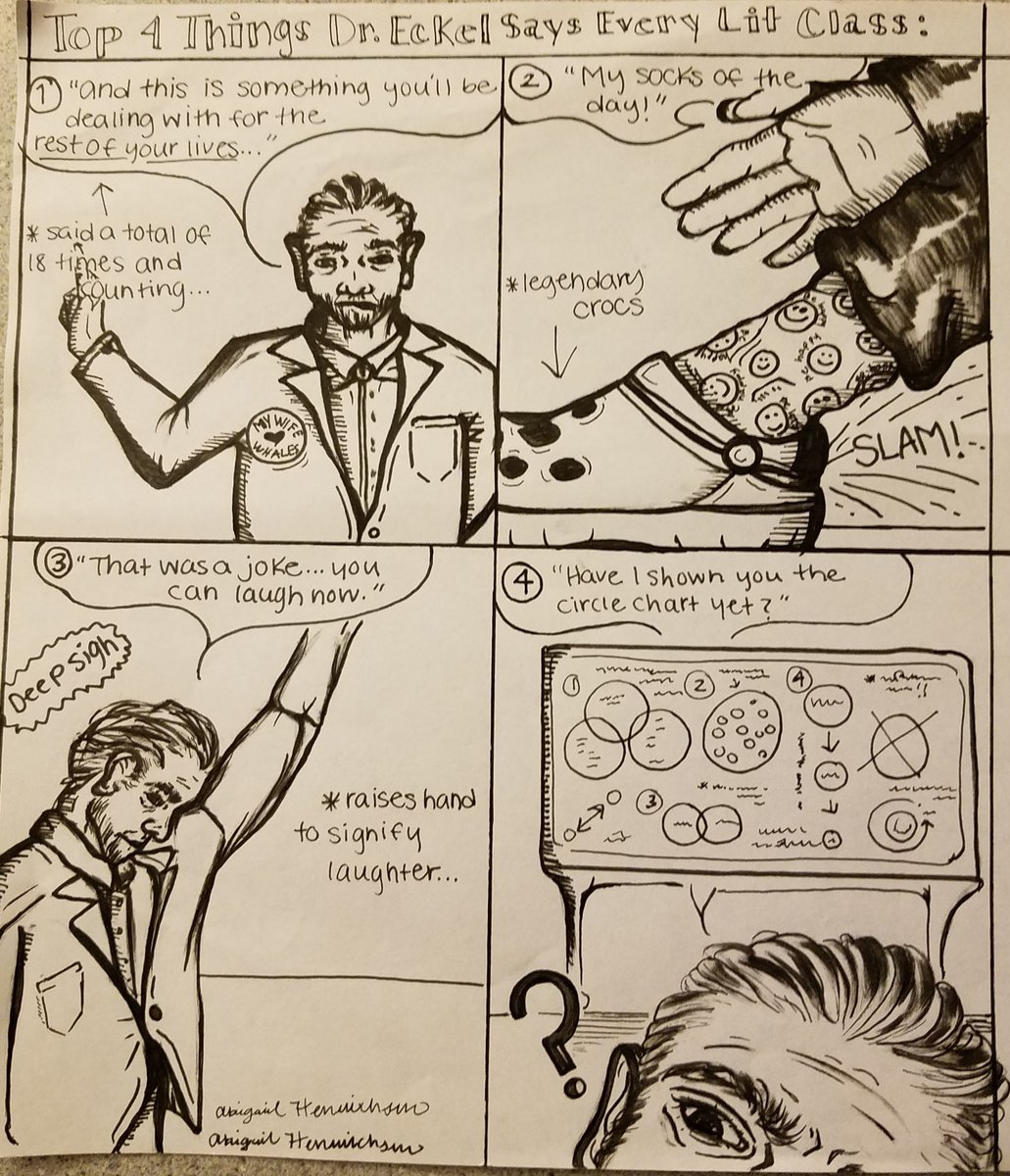 A #students #cartoon #characterdesign of a #teacher, your truly #classroomTales #artwork #sketches #socks #Crocs #teacherlife @INTOY2014 @MR_ABUD @MarkSadler16 @WeAreTeachers @21stCenturyTch @teacher2teacher