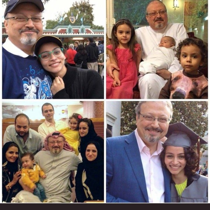 This is the man the Crown Prince murdered.  Khashoggi.   Trump then defends Crown Prince bin Salman. #Morningjoe <br>http://pic.twitter.com/ubs2mBqmlv