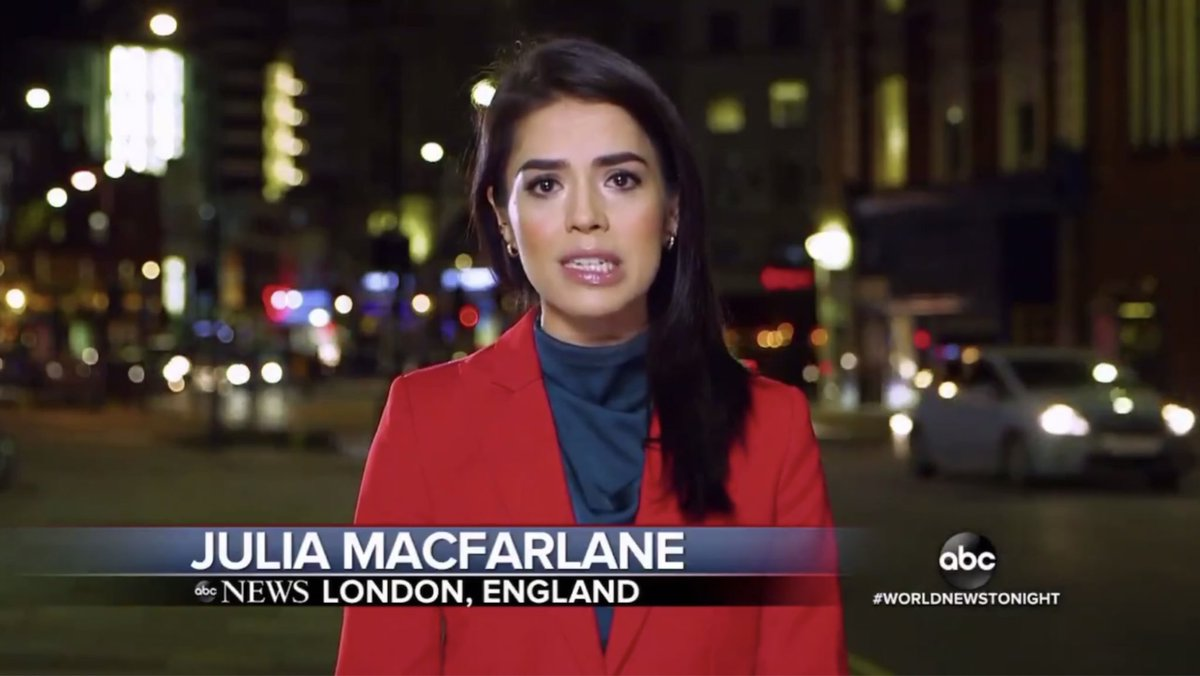 """""""We cross live to London now - Julia, how is Brexit going over there?"""""""