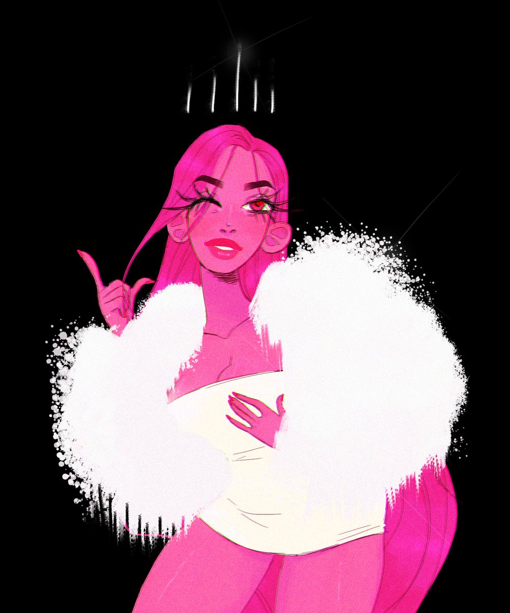 '𝟛𝟘%' A redraw of an kinda old thing of mine of Persephone from @used_bandaid's Lore Olympus