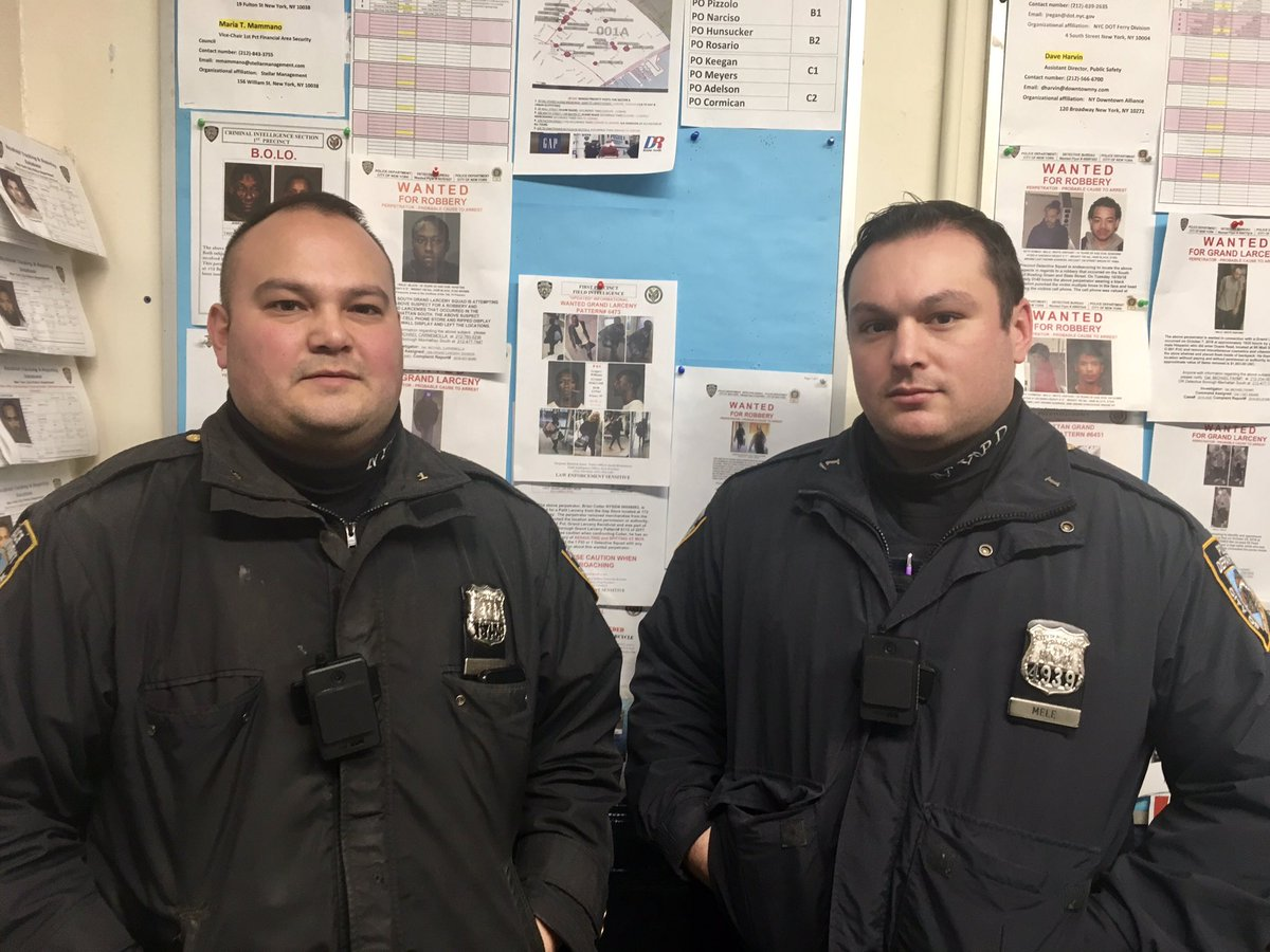 #NeighborhoodPolicing proves it works yet again. This time your Neighborhood Coordination Officers Mele & DelGiorno utilize their contacts within the community to arrest a suspect wanted for 12 grand larceny complaints in . #Manhattan#NYPDprotecting