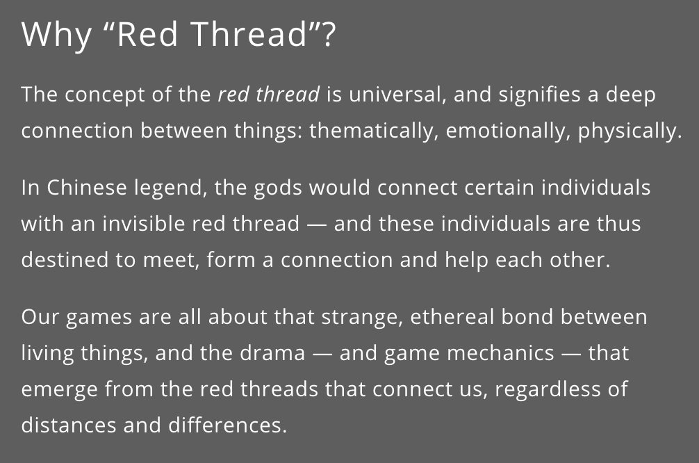 Red Thread Games on Twitter: