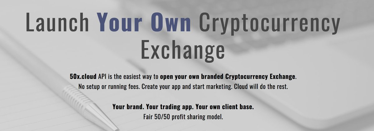 open your own cryptocurrency exchange