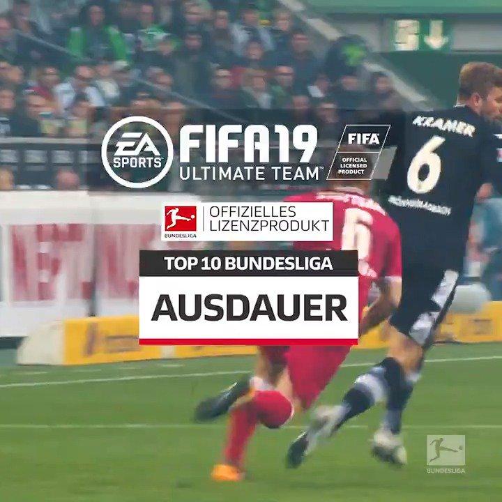 Die Pferdelungen der Bundesliga. Die #BundesligaTop10 in der Kategorie Ausdauer #FIFA19 #FUT
