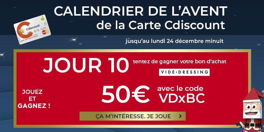 Carte De Noel Cdiscount.Cdiscount On Twitter Noel A Volonte C Est Le Jour 10