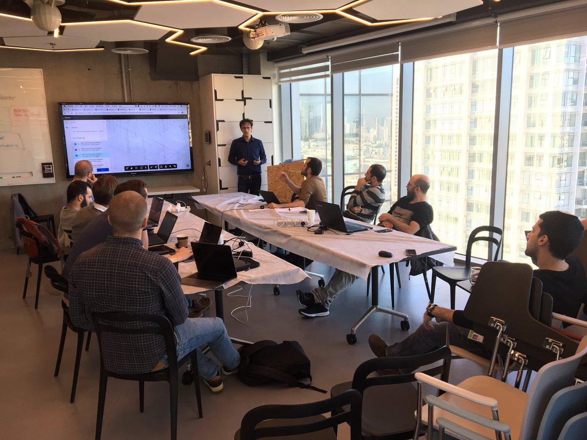 #BIM360 APIs intro by Tomer Galon during @AutodeskForge accelerator in Tel Aviv.