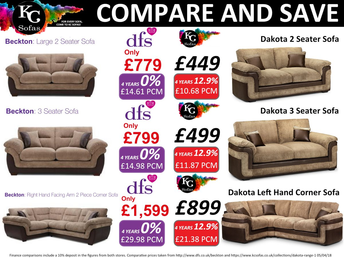 Compare Save With Kc Sofas We Price Check So You Don T Have To Guaranteeing Get The Best Deal All Year Round Sofa Yorkshire Bargain Beckton