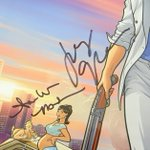 Hey #Archer fans! Get your hands on this SWEET poster signed by #JudyGreer, #JudyGreer, #AmberNash, #ChrisParnell, #AishaTyler, #AdamReed, #LuckyYates & #CaseyWillis. Bid to own this little piece of joy. Proceeds benefit the @sagaftraFOUND  Bid here:   https://t.co/5ENYNc6Oqb