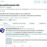 Image for the Tweet beginning: Retweet der IBB, leider werde