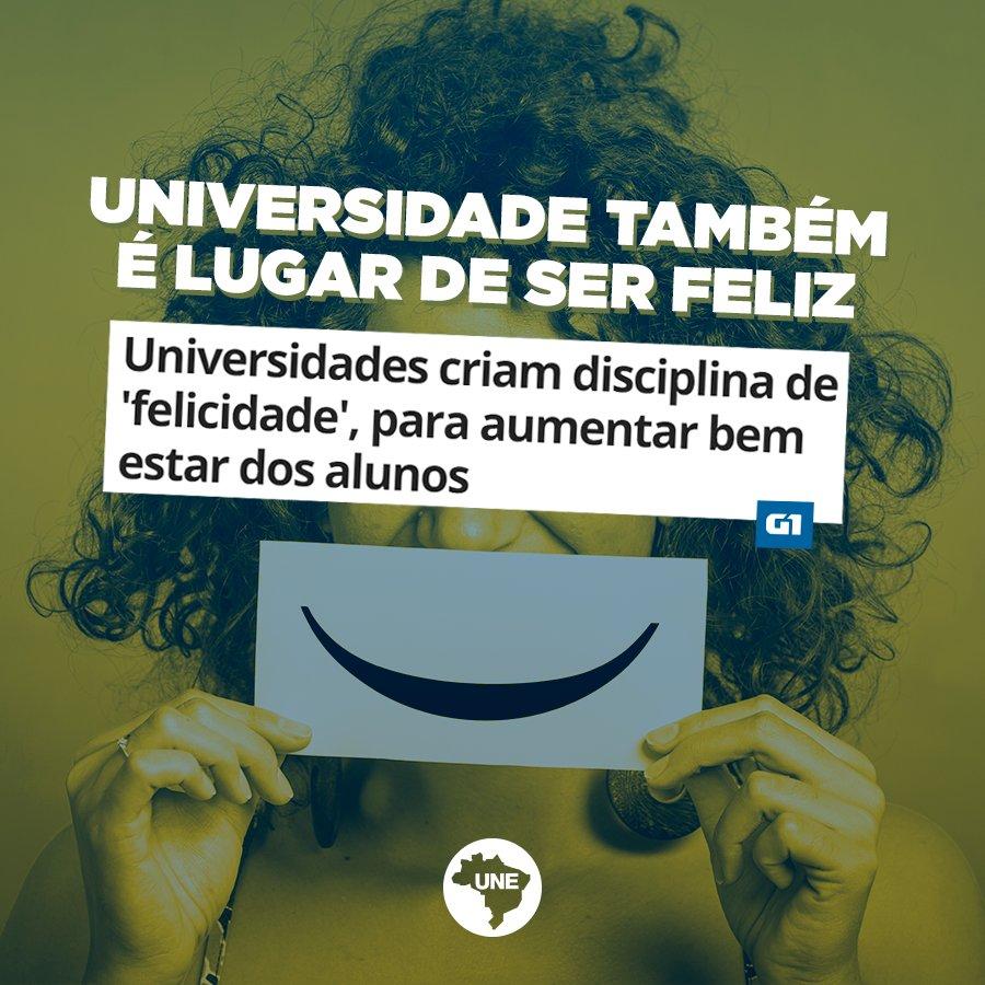 Universidade também é lugar de ser feliz. Ótima iniciativa da UnB! Leia: https://t.co/OuwVjrlt2i