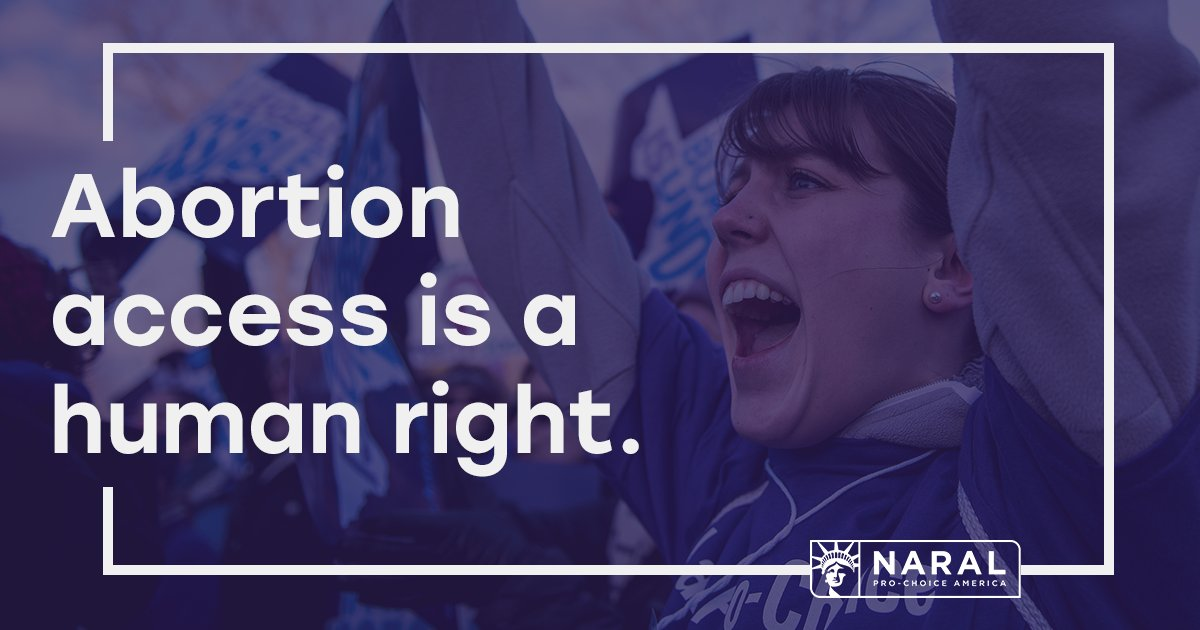 Abortion access is a human right. Period. End of story. #HumanRightsDay
