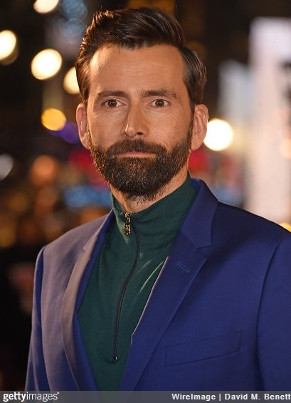 David Tennant at the Mary Queen Of Scots movie premiere in London - Monday 10th December 2018