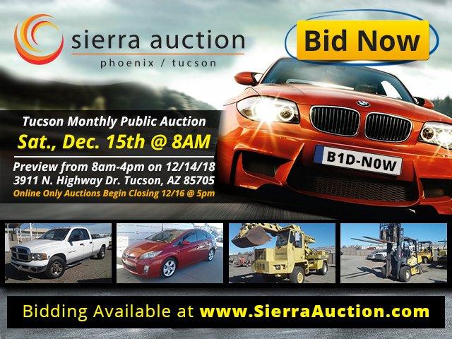 Tucson Car Auction >> Sierra Auction On Twitter Tucson Public Vehicle Auction