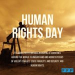 Image for the Tweet beginning: Happy #HumanRightsDay! We are proud