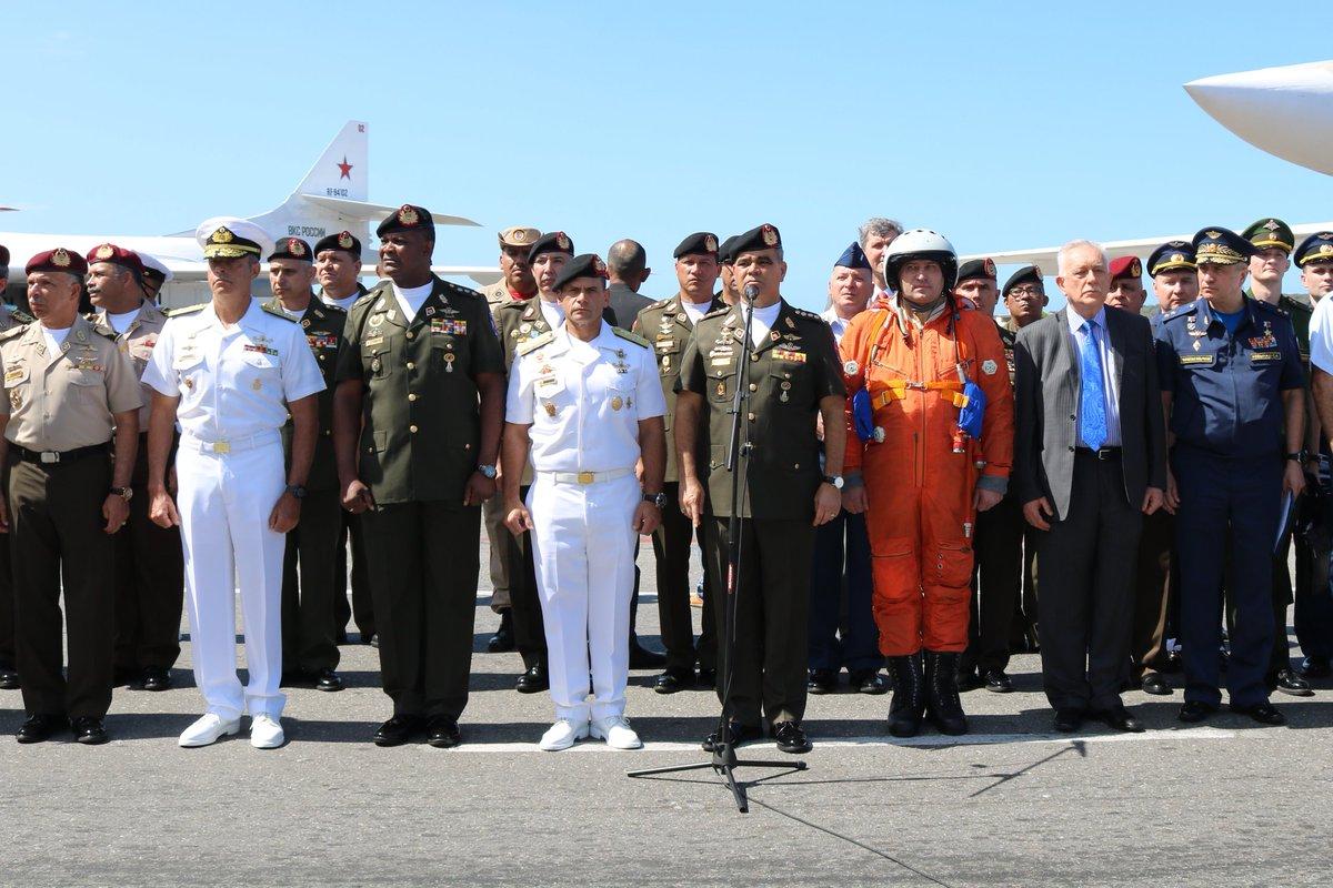 Venezuela prepara maniobra aérea con Rusia para fortalecer su capacidad de defensa DuE7rXFWkAMTDBW