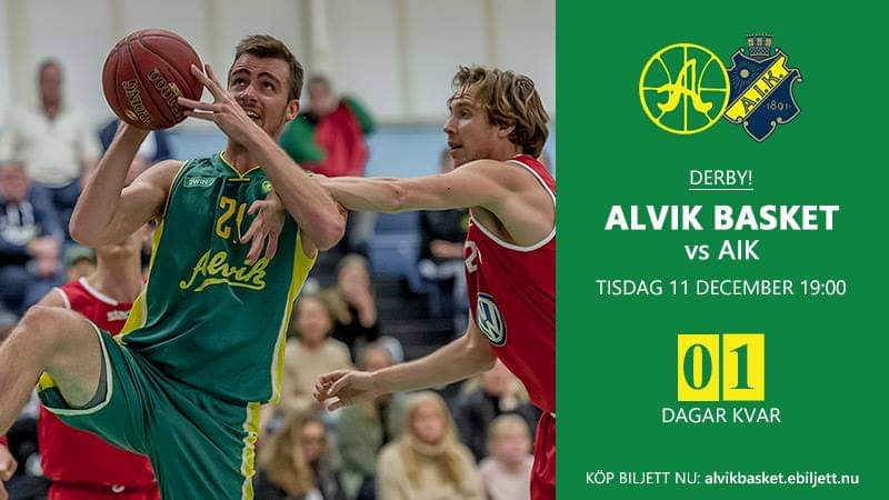 Knapp derbyseger for alvik