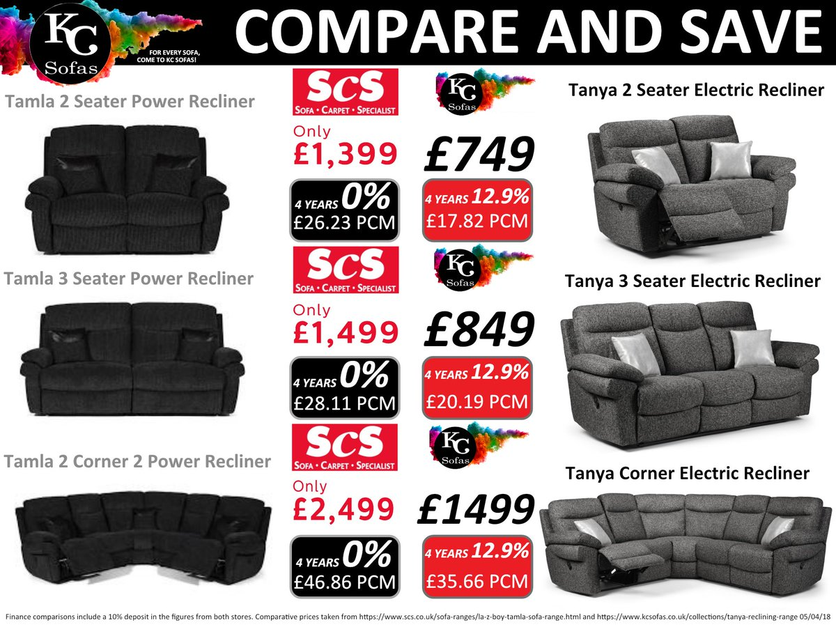 Compare Save With Kc Sofas We Price Check So You Don T Have To Guaranteeing Get The Best Deal All Year Round Sofa Yorkshire Bargain Tamla