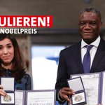 #Friedensnobelpreis Twitter Photo