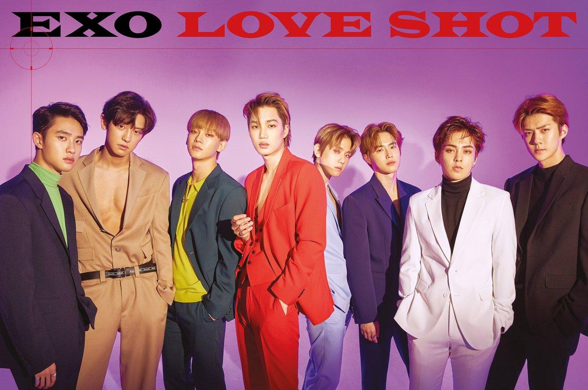 EXO The 5th Repackage Album 'LOVE SHOT' 🎧 2018.12.13. 6PM (KST) 👉 exo.smtown.com #어디에도_없을_완벽한_EXO #EXO #weareoneEXO #엑소 #LoveShot #러브샷