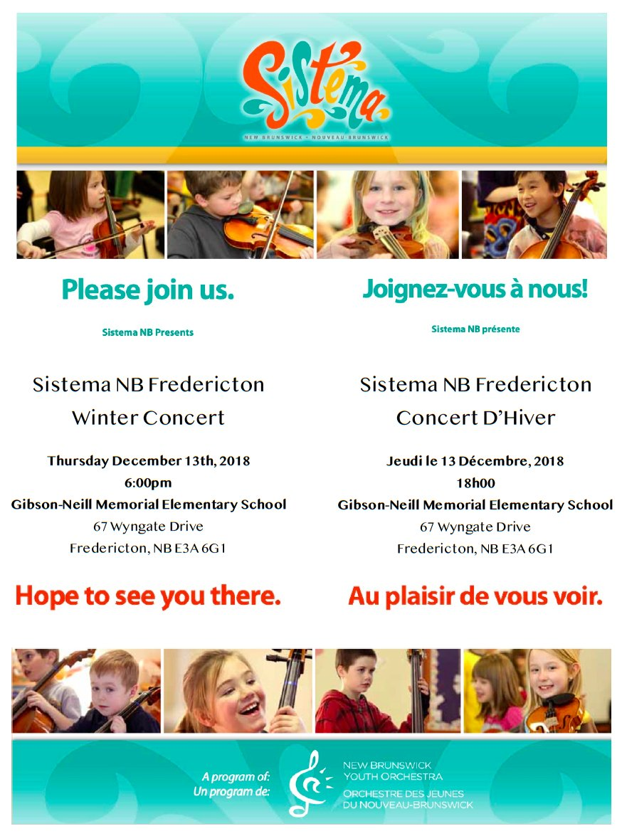 Our Winter Concert is an event not to be missed!  Come see our young artists perform! Invite family and friends.  December 13th, 6:00pm at Gibson-Neill Memorial Elementary School  Admission is free!<br>http://pic.twitter.com/PGkK3sjxJ4