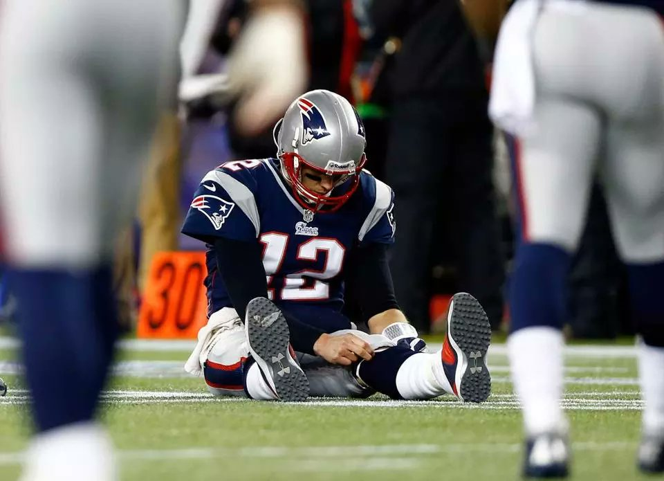 Don't Put Any Of New England's Loss On Tom Brady's Shoulders