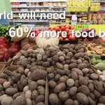 Image for the Tweet beginning: 60% more #food will be