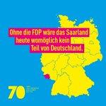 Image for the Tweet beginning: #70JahreFDP: Ohne die @fdp wäre