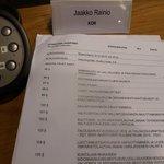 Image for the Tweet beginning: Valtuuston kokouksessa ensi vuoden talousarvio.