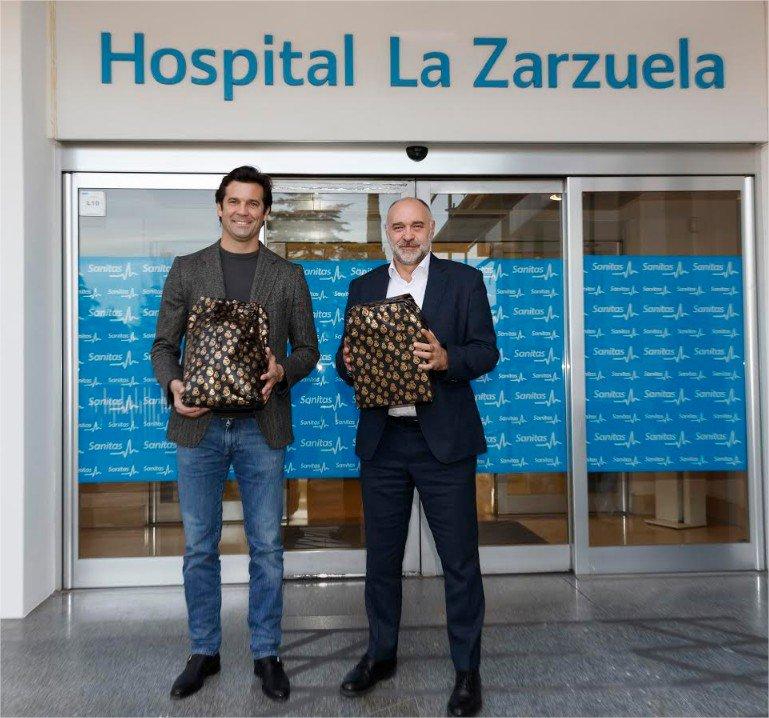 Image for the Tweet beginning: Los jugadores de @realmadrid y