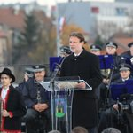 Image for the Tweet beginning: JANDROKOVIĆ NA OTKRIVANJU SPOMENIKA: Tuđman