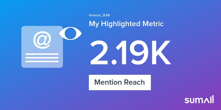 My week on Twitter 🎉: 40 Mentions, 2.19K Mention Reach, 15 Likes, 3 Retweets, 883 Retweet Reach. See yours with https://sumall.com/performancetweet?utm_source=twitter&utm_medium=publishing&utm_campaign=performance_tweet&utm_content=text_and_media&utm_term=67d0897adc4dd534ebe7812b…