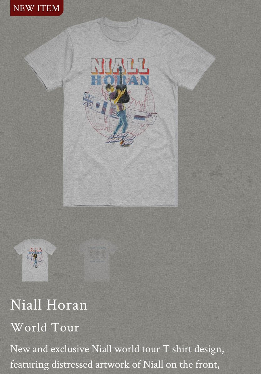 Niall Tour Updates On Twitter A New Flicker Tour T Shirt Was Also Added To Niall S Merch Store Https T Co Xe7qdjovfb